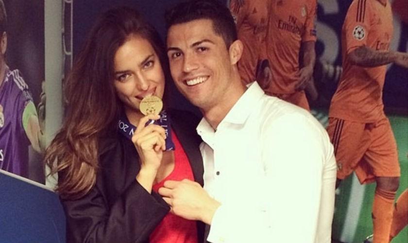 Cristiano Ronaldo confirma que terminó con Irina Shayk