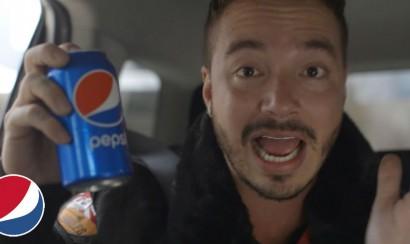J Balvin participa en un comercial de Pepsi para el Super Bowl
