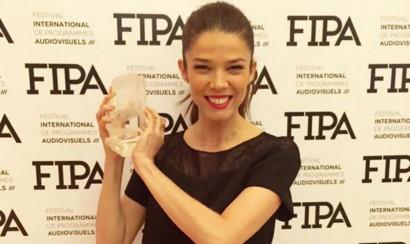 Juanita Acosta es premiada en Festival Francés de Programas Audiovisuales