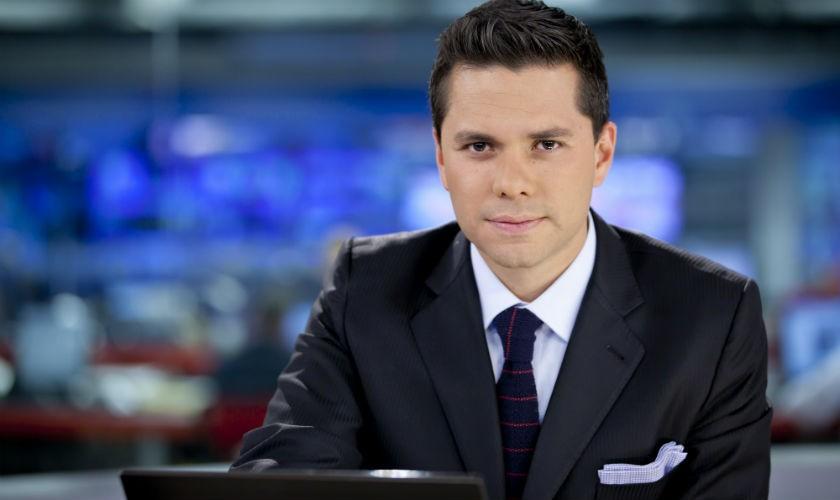 Luis Carlos Vélez, vicepresidente de noticias de Telemundo