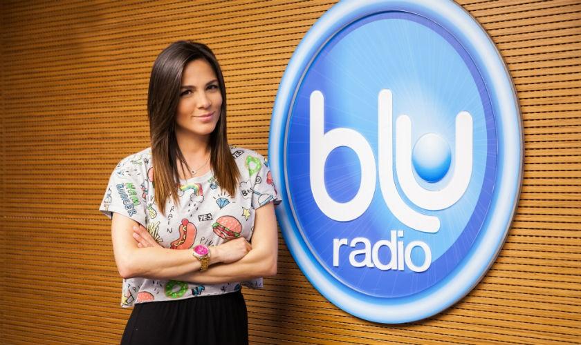 Mabel Cartagena programa Voz Populi de Blu Radio