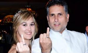 Marlon Moreno se casó por segunda vez con Laura Pujol