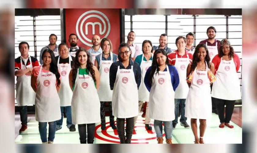 Estos son los 18 participantes de MasterChef Colombia