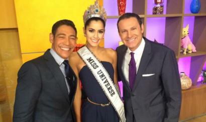 Paulina Vega bailó 'La pulla loca' en su primer día como Miss Universo