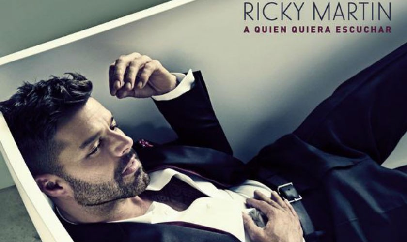 Ricky Martin revela portada de 'A Quien Quiera Escuchar'