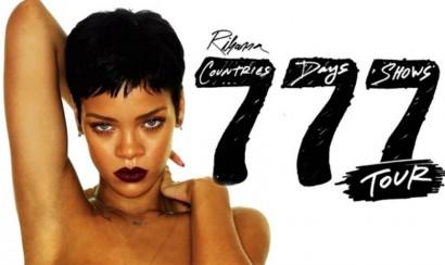El Canal TNT presenta el especial '777' de la cantante Rihanna