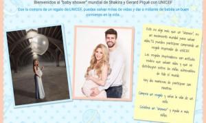 Shakira y Pique invitan al  baby shower de su segundo hijo