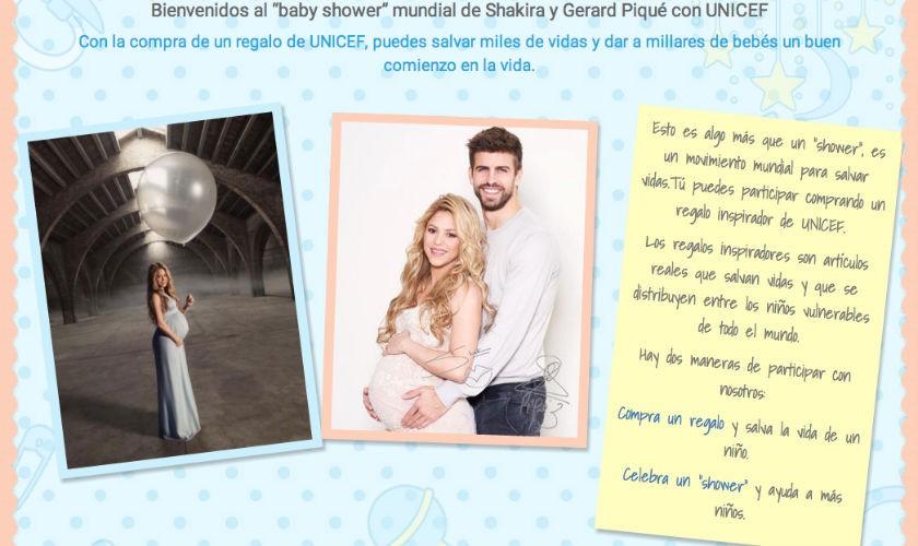 Shakira Baby Shower Segundo hijo