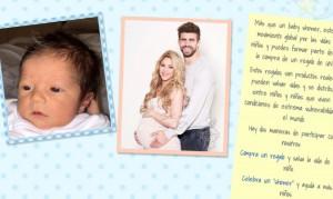 Así es el segundo hijo de Shakira y Gerard Piqué