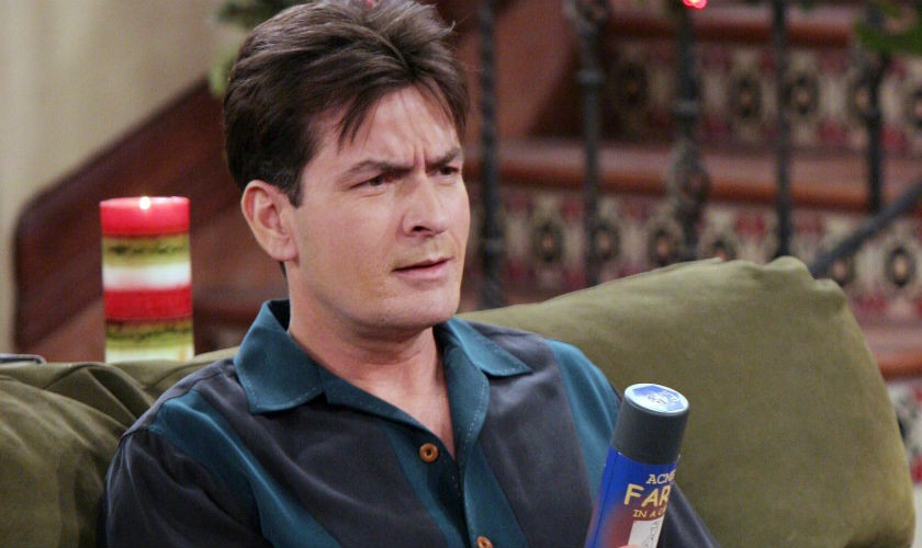 Charlie Sheen no estuvo en el último capítulo de 'Two and a Half Men'