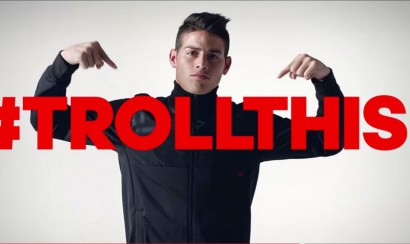 Video: James Rodríguez comercial Adidas botas Adizero F50