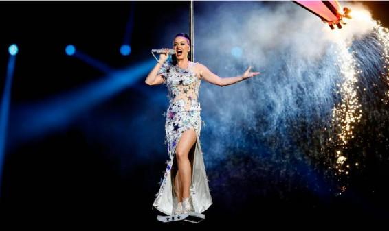 Revive la presentación de Katy Perry en el Super Bowl 2015