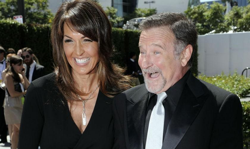 Los hijos y la esposa de Robin Williams pelan por la herencia