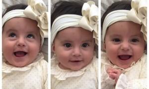 Andrea Serna presentó a su hija Emilia en Instagram