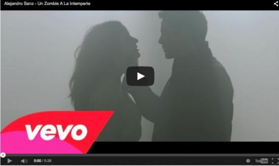 Alejandro Sanz presenta el video de la canción 'Un Zombie A La Intemperie'