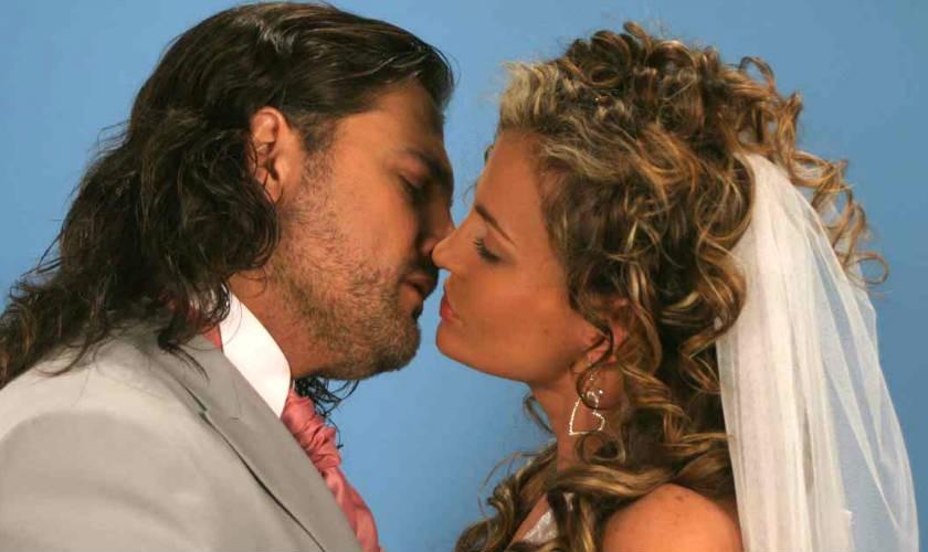 Aura Cristina y Marcelo Dos Santos presentadores de Los Ex