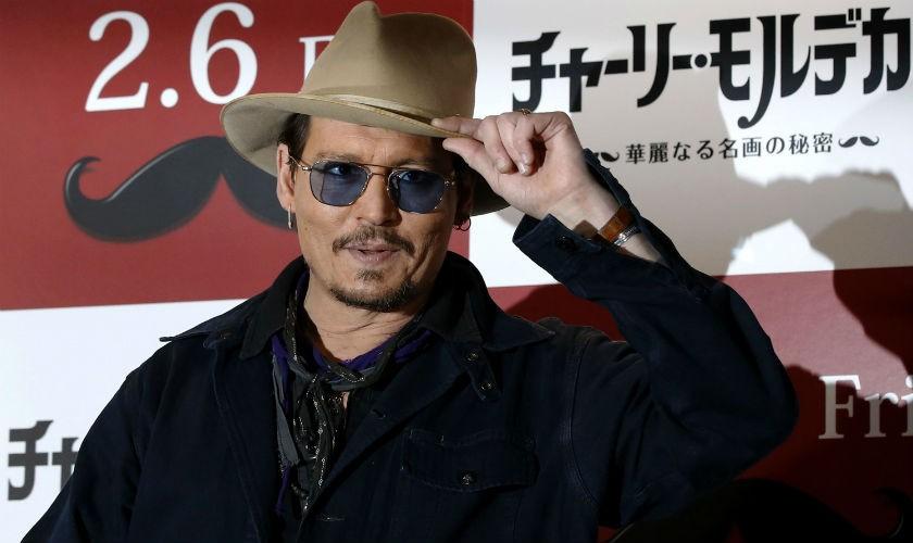 Johnny Depp sufre accidente en la rodaje Piratas del Caribe