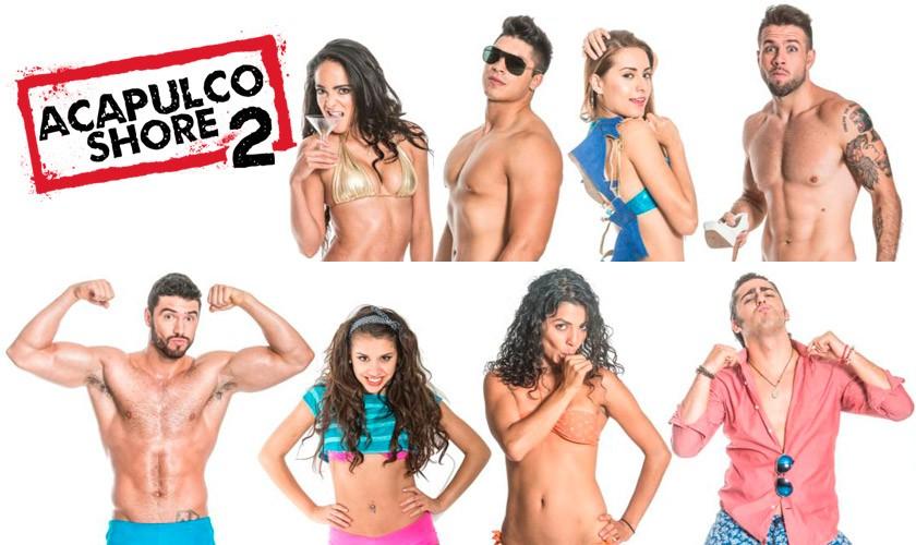 Grabaciones de segunda temporada de Acapulco Shore