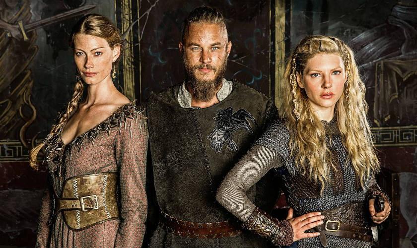History Channel renueva Vikingos para cuarta temporada