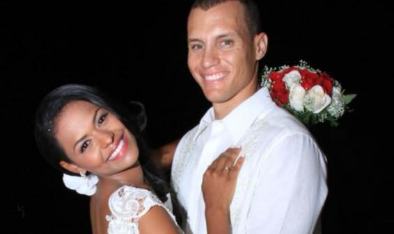 Martin Suárez y Jenny Machado contrajeron matrimonio