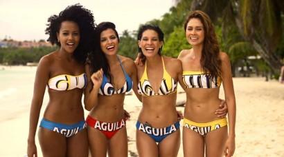 Video: Nuevas Chicas Aguila debutan en el Carnaval de Barranquilla