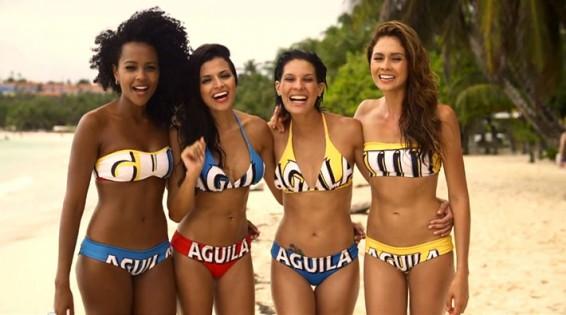 Las nuevas Chicas Aguila debutan en el Carnaval de Barranquilla