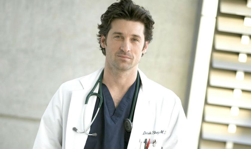 Dr. Derek Shepherd abandona la serie Grey's Anatomy