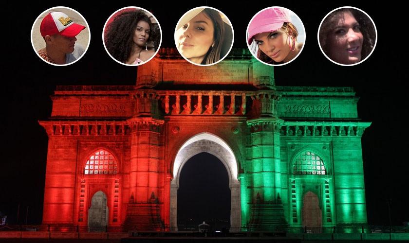 Estos serían algunos participantes del Desafío India, La reencarnación