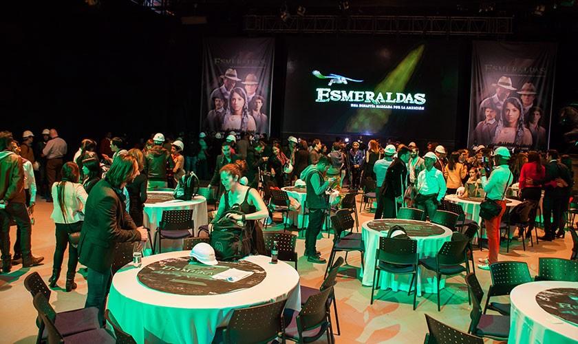 Serie Esmeraldas del Canal Caracol fue presentada a medios