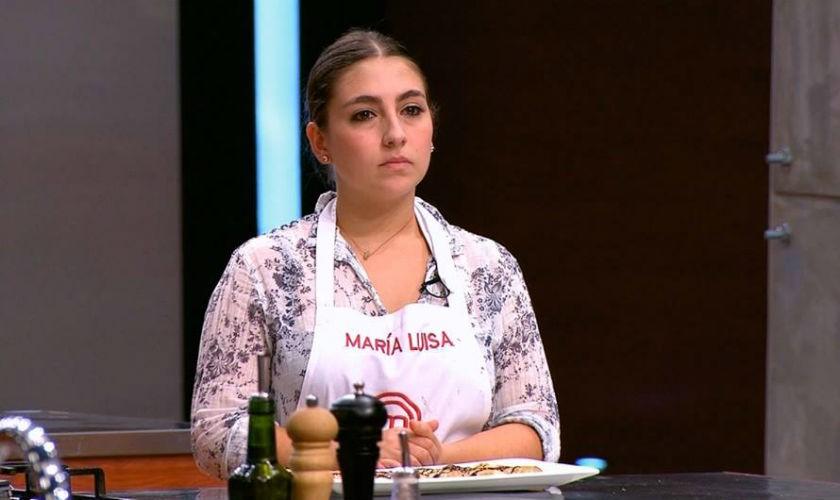 María Luisa habló tras su salida de MasterChef Colombia