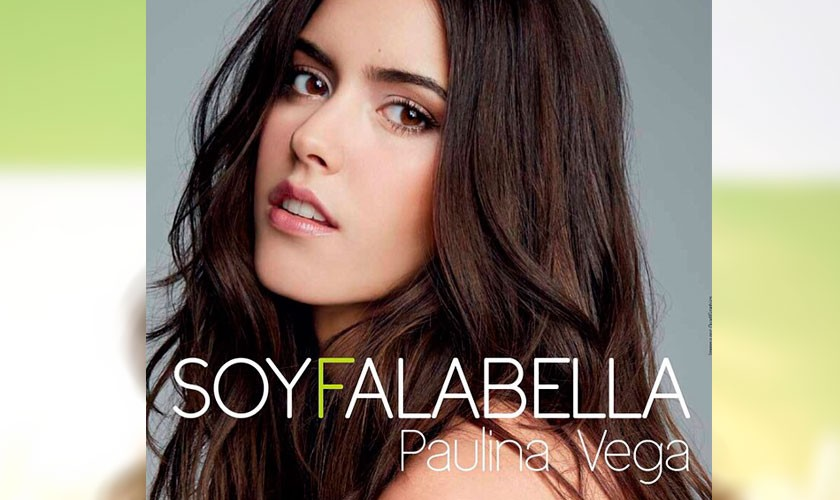 Paulina Vega es la nueva imagen de Falabella