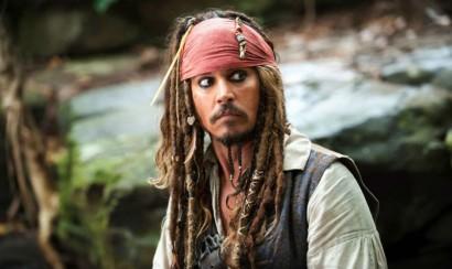 Johnny Depp retrasa el rodaje de 'Piratas del Caribe 5'
