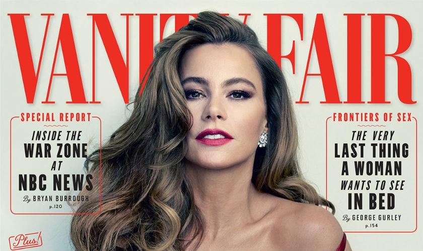 Sofía Vergara portada de la Revista Vanity Fair