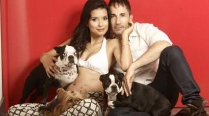 Paola Rey muestra su embarazo en la Revista ALÓ