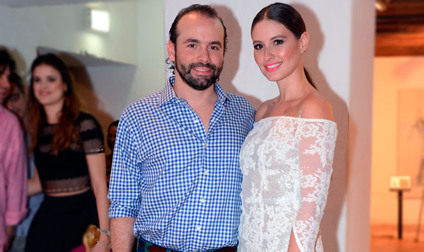 Detalles del matrimonio de Taliana Vargas