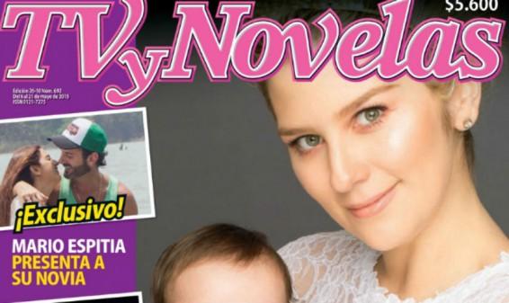 Andrea Guerrero y su hija Luna son portada de la Revista TVyNovelas