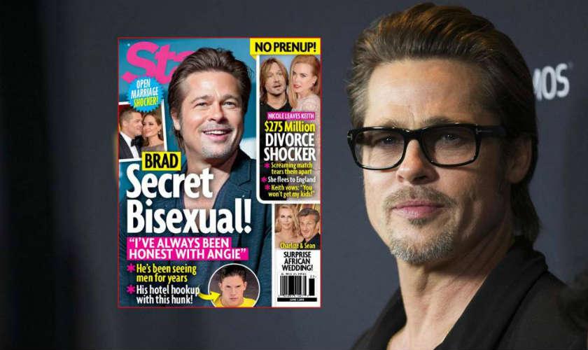 Revista Star asegura que Brad Pitt es bisexual