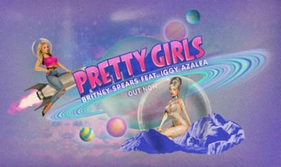Britney Spears e Iggy Azalea presentan Pretty girls