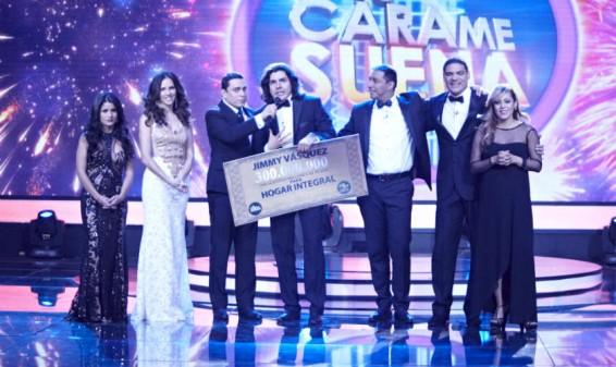 Jimmy Vásquez es el ganador de 'Tu cara me suena' del Canal Caracol