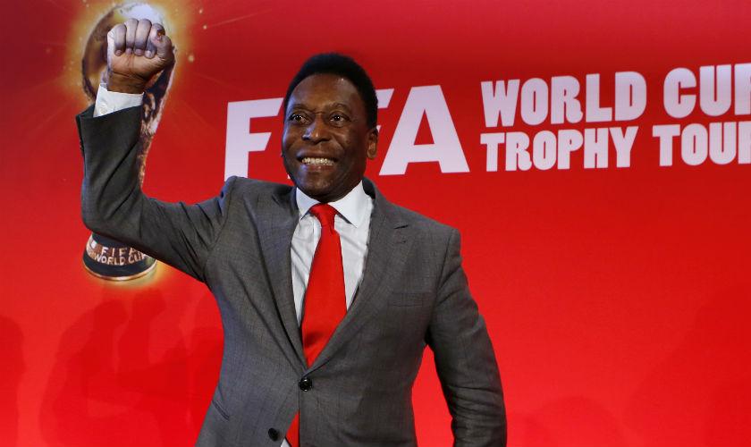 Pelé es hospitalizado en Brasil por problemas renales