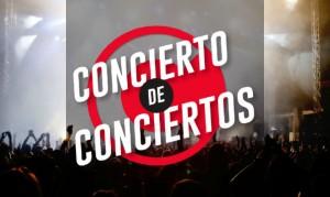 Cancelado Concierto de conciertos en Bogotá