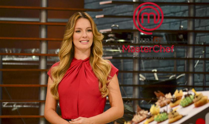 Claudia Bahamón sería la presentadora de MasterChef Junior
