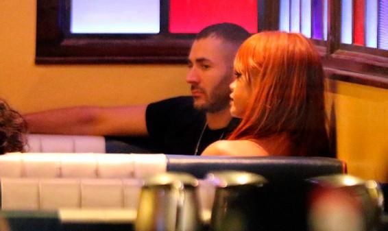 Rihanna estaría iniciando romance con el madridista Karim Benzema