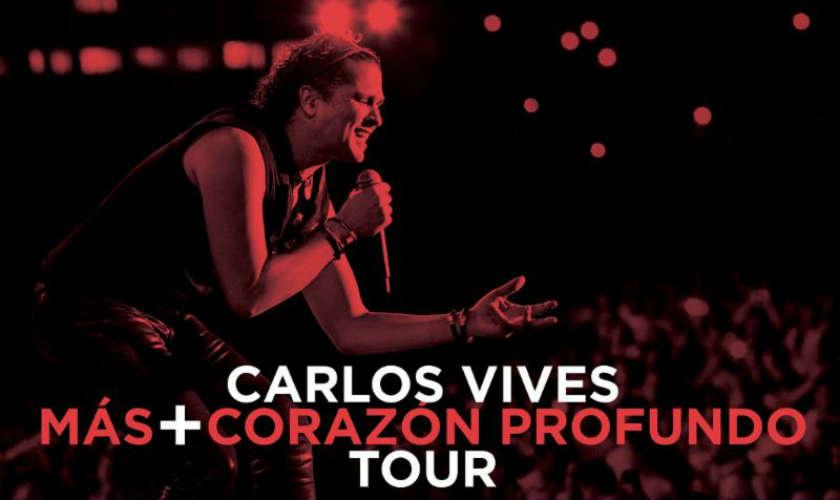 Carlos Vives presenta Más Corazón Profundo en vivo