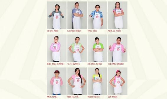 Estos son los 18 participantes de MasterChef Junior Colombia
