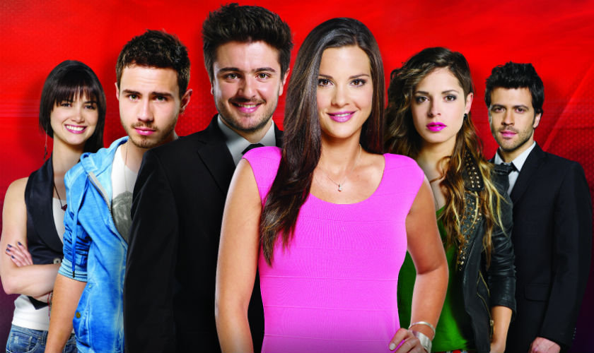 Personajes de la novela Dulce Amor del Canal Caracol