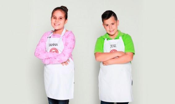 Danna y José son los primeros eliminados de MasterChef Junior