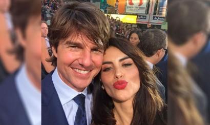 ¿Jessica Cediel y Tom Cruise juntos?