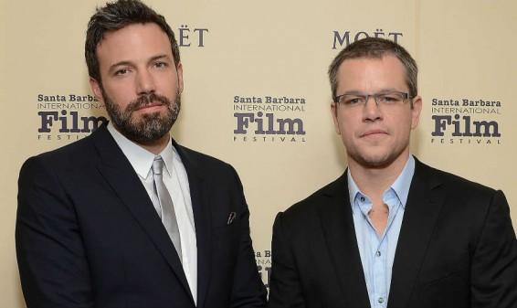 Matt Damon y Ben Affleck llevarán al cine el escándalo de la FIFA
