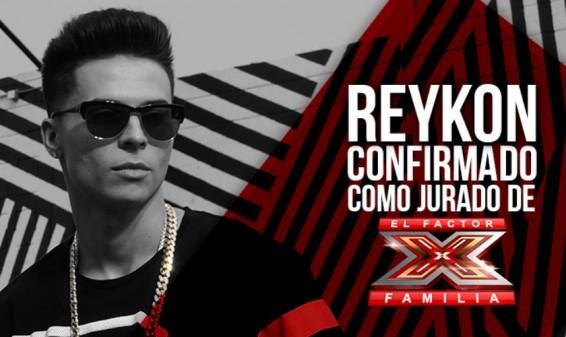 Confirmado: El cantante Reykon será jurado del reality 'Factor XF'
